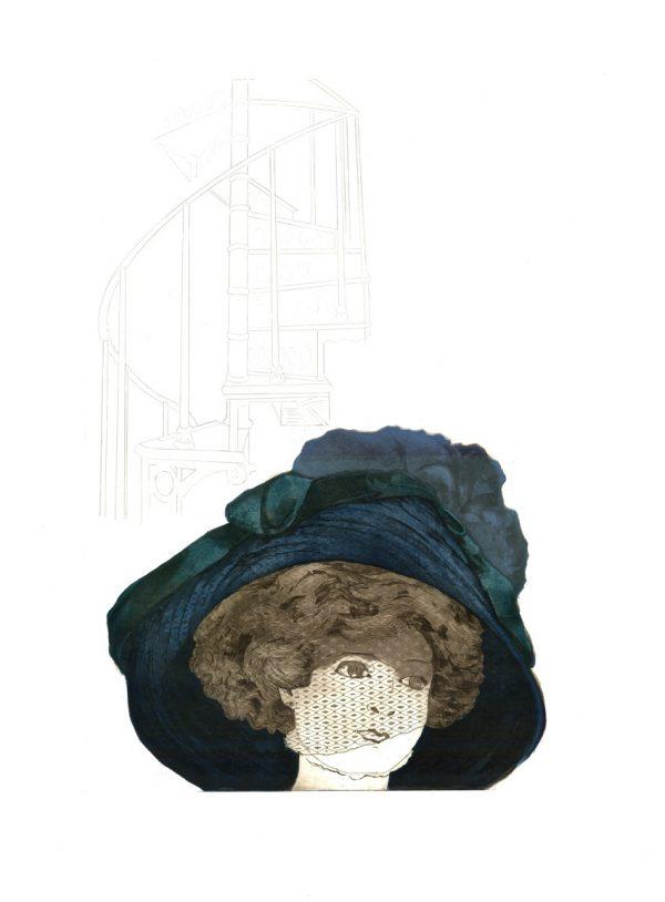 Merijean Morrissey, Widow_Kilmainham, 2016, etching, (62cm x 42cm) 80cm x 59cm, 8cm, price