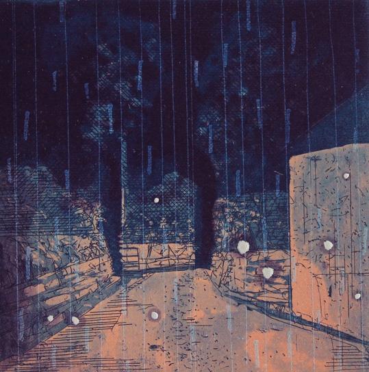 Niall Naessens, Night Driving Rain