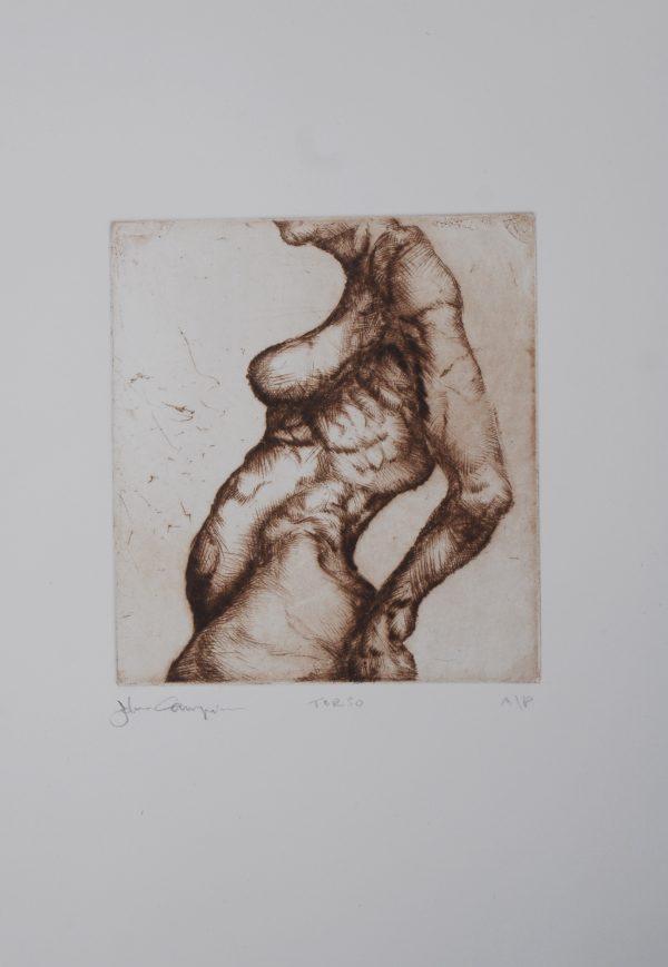 Graphic Studio Dublin: John Campion, Torso