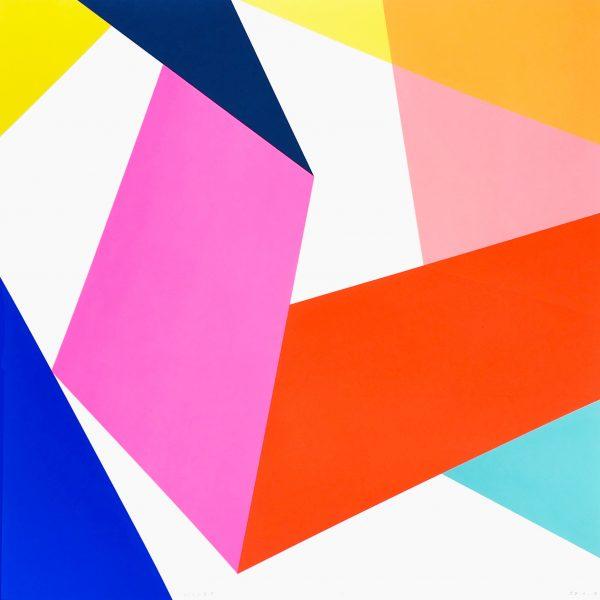 Graphic Studio Dublin: Frea Buckler, Twists 1