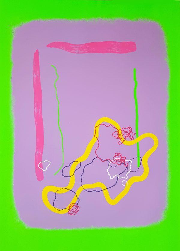 Graphic Studio Dublin: Aoife Scott, Window of Hope