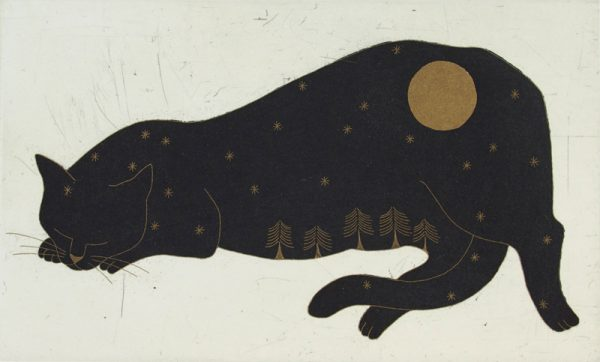 Yoko Akino, Cat and the moon
