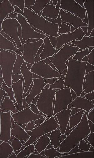 Graphic Studio Dublin •Tom Phelan: Line Drawing II woodblock Somerset Satin paper 85 x 141 cm edition of 12