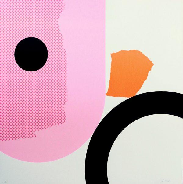 Graphic Studio Dublin: Shane O'Driscoll, Cowboys or Indians #2 - Big Chief Pink
