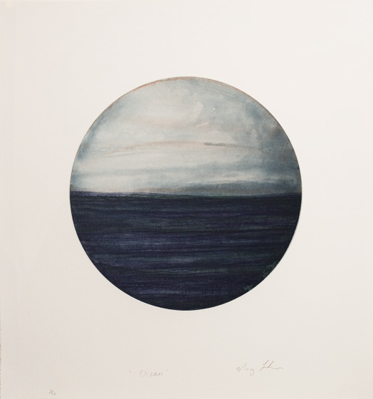 Graphic Studio Dublin: Mary Lohan, Ocean I