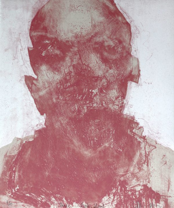 Graphic Studio Dublin: Cian McLoughlin, Tronie pink head