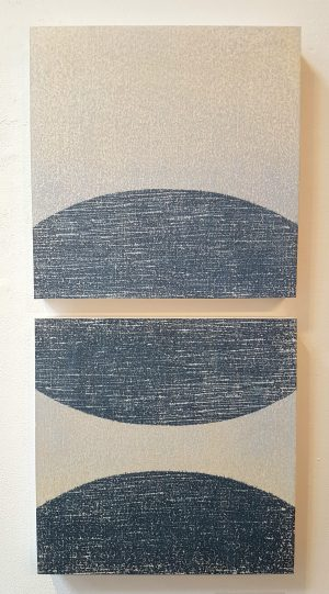 Graphic Studio Dublin • Kate MacDonagh: The Blue Diptych, Kate MacDonagh