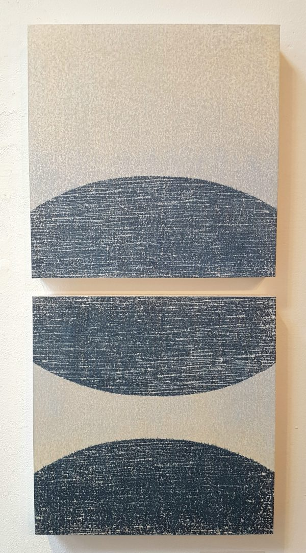 The Blue Diptych, Kate MacDonagh