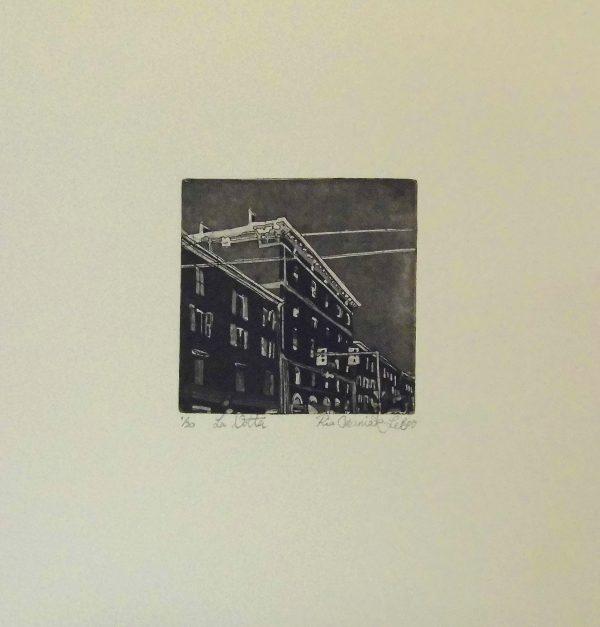 Graphic Studio Dublin: Ria Czerniak-LeBov, La Notta