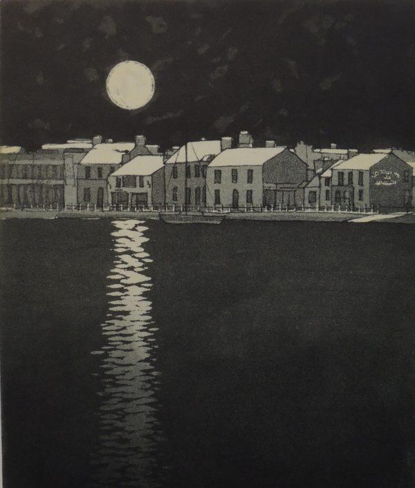 Moonlight, Skerries Harbour
