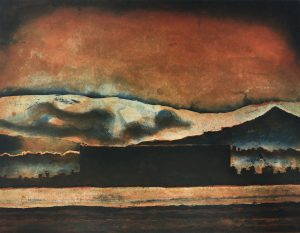 Graphic Studio Dublin •Julie Ann Haines: Under a blood red sky