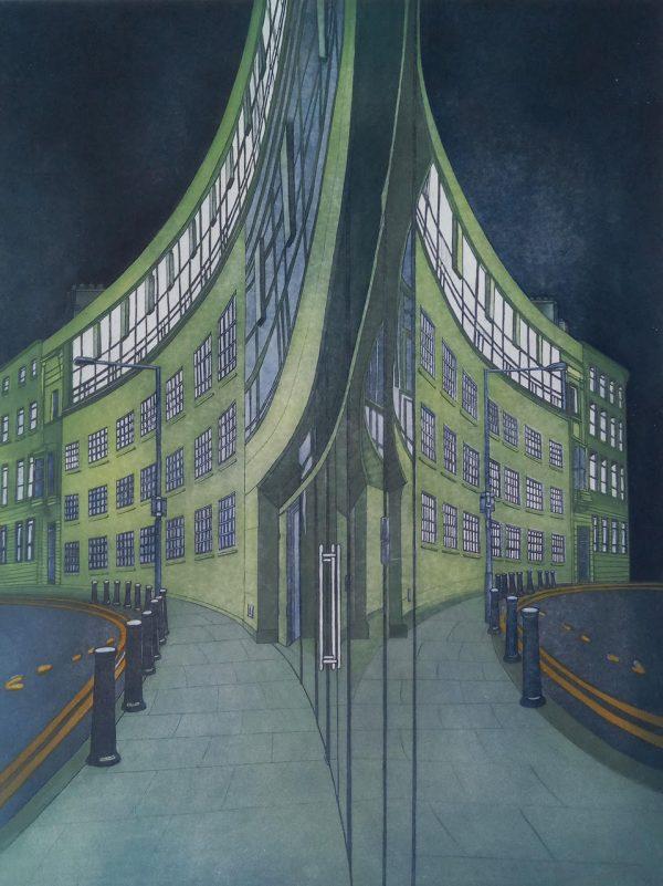 Graphic Studio Dublin: Elke Thönnes, Kilcoe View