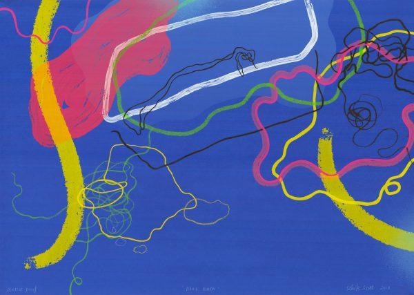 Graphic Studio Dublin: Aoife Scott, Blue Bath