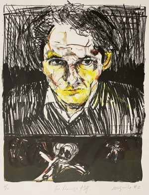 Graphic Studio Dublin •Brian Maguire: Two Drawings of Self €400