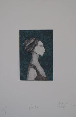 Graphic Studio Dublin •Marie-Louise Martin: Graphic Studio Dublin: Clarissa