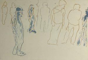 Graphic Studio Dublin •Maev Lenaghan: Maeve Lenaghan, Step of a Pard €250