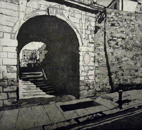 Graphic Studio Dublin: Ria Czerniak LeBof, Dublin Castle