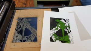 Graphic Studio Dublin: Linoprint Weekend Workshop: 18th - 19th May 2019