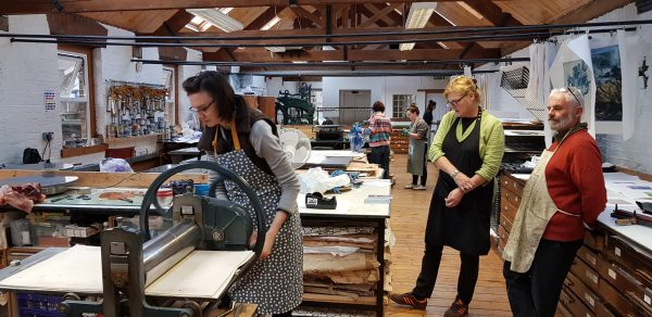 Graphic Studio Dublin: Four Week Etching Course- Saturday 9th February - Saturday 2nd March 2019