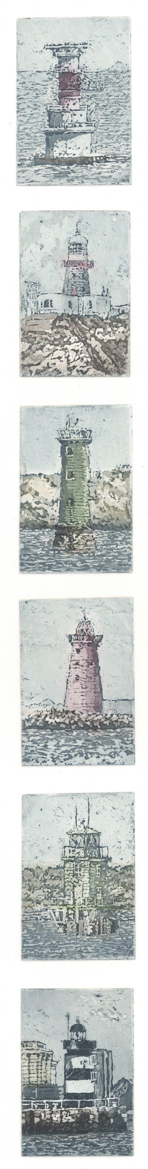 Graphic Studio Dublin: Susan Early, Dublin Bay, Lighthouses