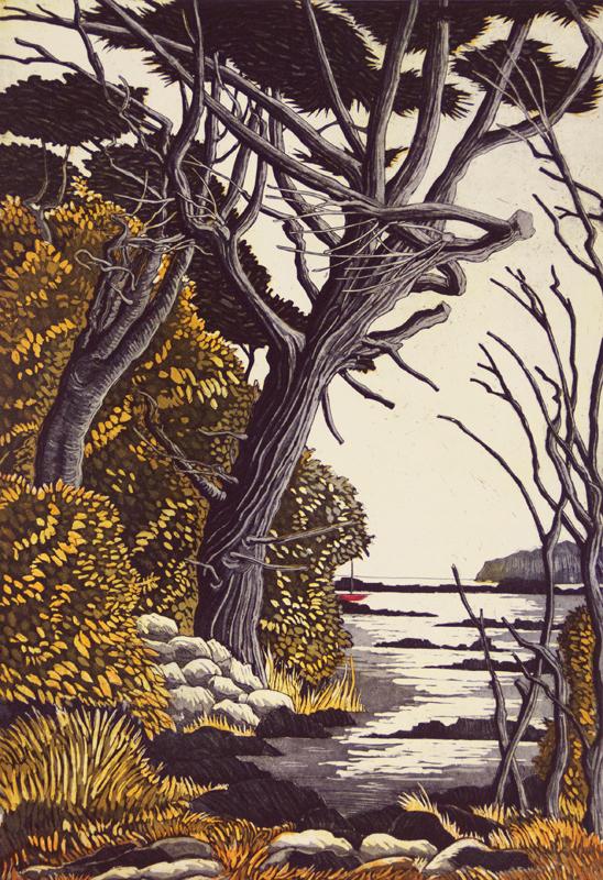 Graphic Studio Dublin: Storm Tree