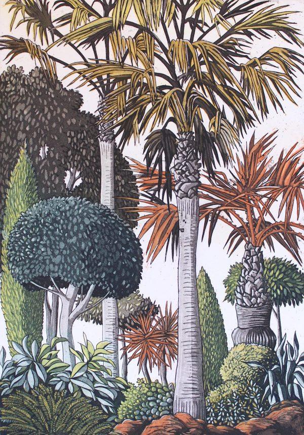 Pamela Leonard, Spanish Garden