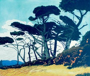 Graphic Studio Dublin • Pamela Leonard: Windswept Trees