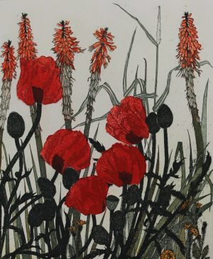 Graphic Studio Dublin • Pamela Leonard: Poppies
