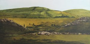 Graphic Studio Dublin •Robert Russell: Graphic Studio Dublin: Green Hills