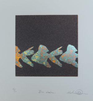 Graphic Studio Dublin •Kelvin Mann: Graphic Studio Dublin: Blue Chain