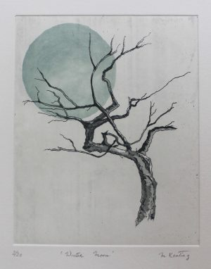 Graphic Studio Dublin • Maura Keating: Winter Moon