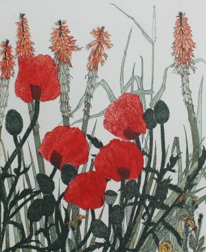 Graphic Studio Dublin • Pamela Leonard: Graphic Studio Dublin: Poppies