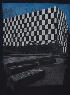Graphic Studio Dublin: Vaida Varnagiene, Docklands, Grand Canal Square