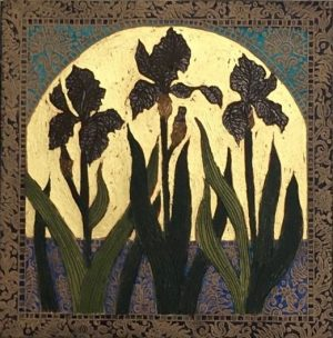 Graphic Studio Dublin • Jean Bardon: Black Iris, Jean Bardon