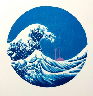 Graphic Studio Dublin: Dublin Bay after Hokusai