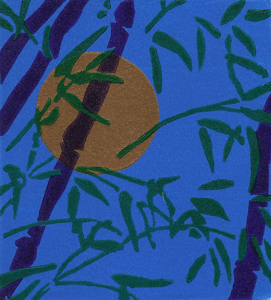 Full Moon and Bamboo, Gerard Cox