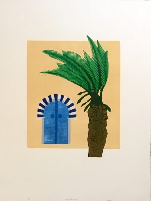 Graphic Studio Dublin: A Door to the Medina