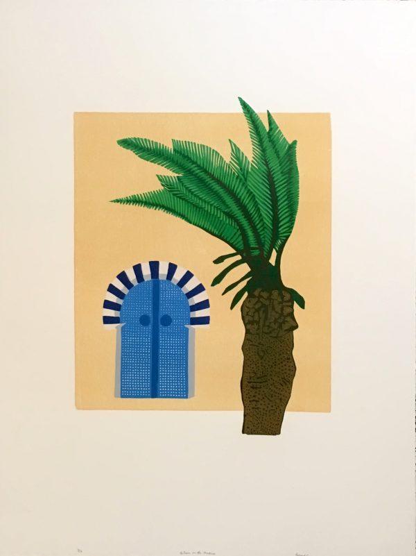 Graphic Studio Dublin: A Door to the Medina