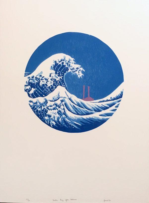 Gerard Cox, Dublin Bay after Hokusai