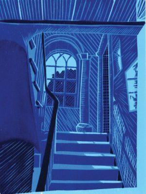 Graphic Studio Dublin •Gerard Cox: Kilternan Blue
