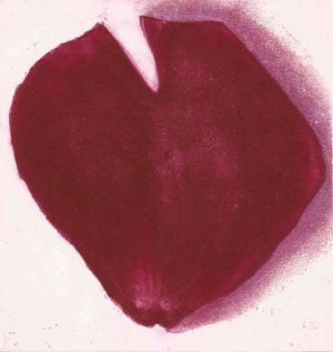 Graphic Studio Dublin •John Campion: Rose Petal, John Campion