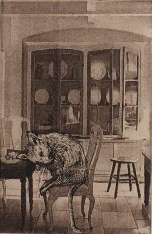 Graphic Studio Dublin •Sarah Rogers: Sleeping Mouse, Sarah Rogers