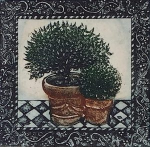 Graphic Studio Dublin • Jean Bardon: Two Pots, Jean Bardon