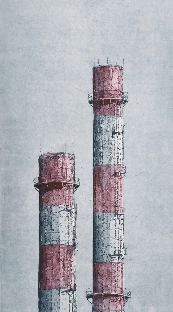 Graphic Studio Dublin: Chimneys