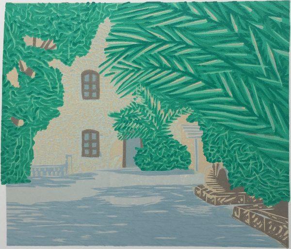 Courtyard, Gerard Cox