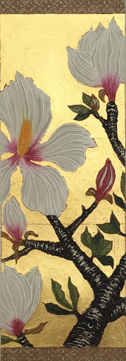 Detail, Magnolia III, Jean Bardon