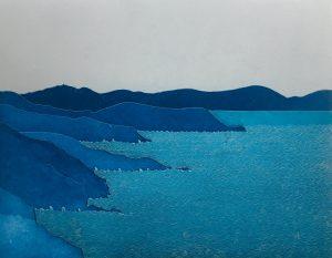 Graphic Studio Dublin •Yoko Akino: Graphic Studio Dublin: In an unknown and secret corner of the sky it floated...