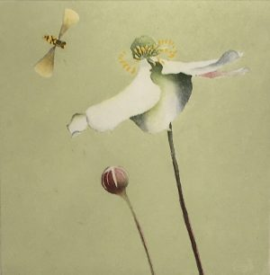 Graphic Studio Dublin • Maura Keating: Graphic Studio Dublin: Japanese Anemone