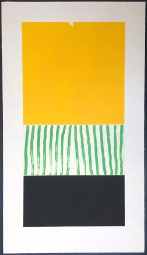 Graphic Studio Dublin: John Noel Smith, Untitled (Big Yellow)