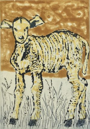 Graphic Studio Dublin • John Behan: Lamb, John Behan